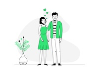 Love, Love, Love - Digital Illustration design vector illustration digital illustration