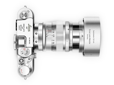 Leica M9 Illustration from 2012 leica retro camera photoshop illustration old