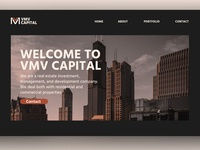 VMV Capital | Web design