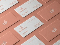 Business Card - Small Swan