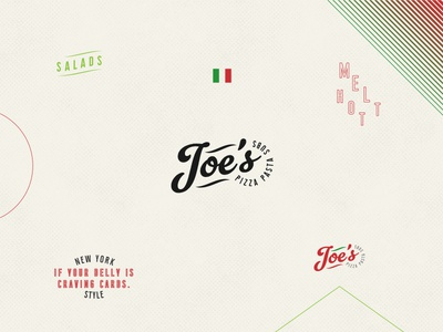 Joe's Pizza Logo joes rebrand pizza logo
