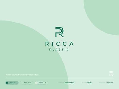 Ricca Plastic – Logo design