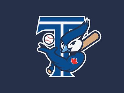 Toronto Blue Jays Secondary toronto mlb logo design conecpt logo design logo concept branding brand baseball