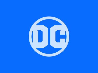 DC Comics New Primary Logo branding concept logo design concept logo design superheroes wonder woman superman batman comic books dc comics dc logo