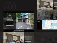 Landing Page for Virtual Hub in Toronto