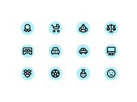 Daily UI Challenge: 055 Icon set