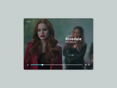 Daily UI Challenge: 057 Video Player