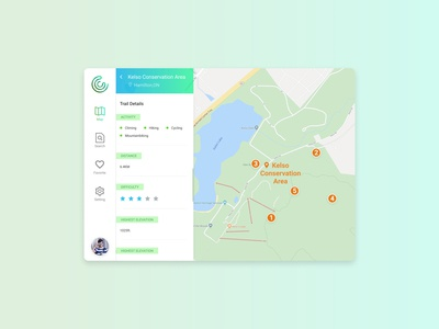 Daily UI Challenge: 029 Map