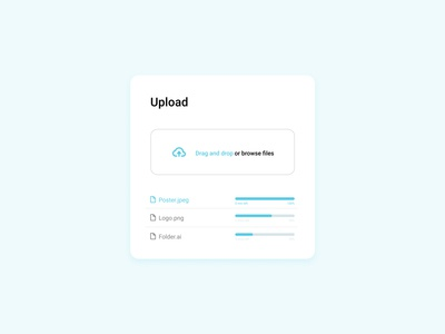 Daily UI Challenge: 031 File Upload