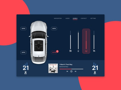 Daily UI Challenge: 034 Car Interface