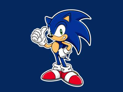 Sonic Illustration