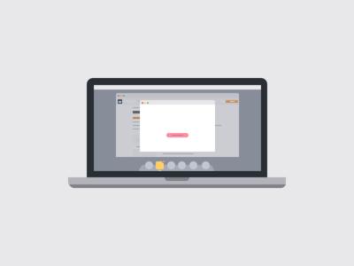 Laptop sketchapp sketch illustration laptop
