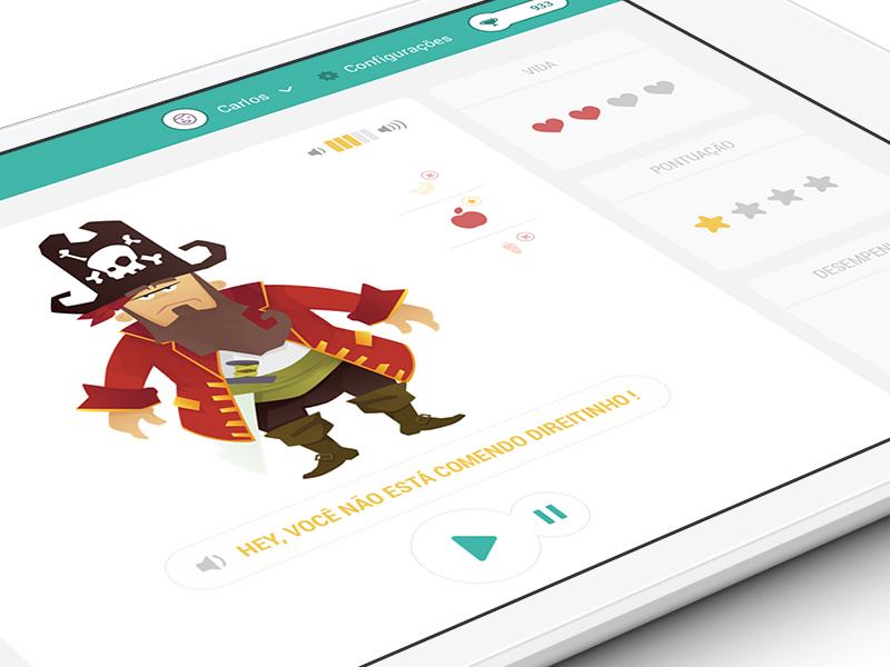 Ipad Concept ipad kid gamification app ios mobile sketch sketchapp