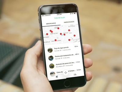 Calango Project clean minimal ios drone branding saas app mobile