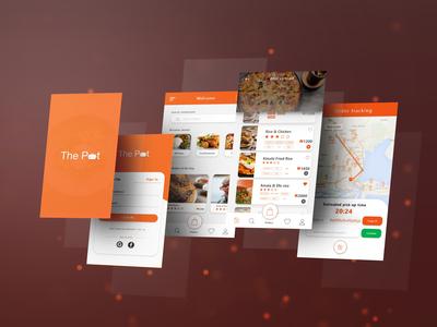 The Pot - Food Ordering App