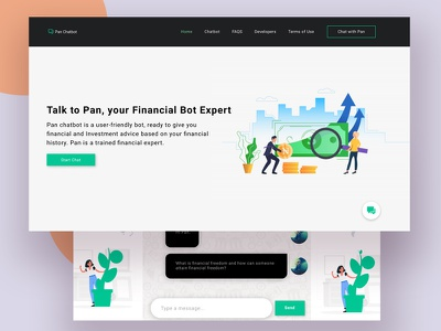 Chatbot UI chatbot figma bankapp illustration webapp product design ui-kit uxdesign ui ux design