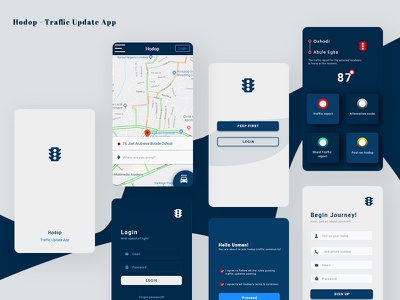 Hodop Traffic app traffic light traffic app app ux ui product design mobile app uxdesign design