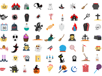 Halloween Icon pack!