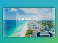 travel web page design!