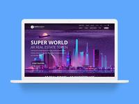 web design for super world