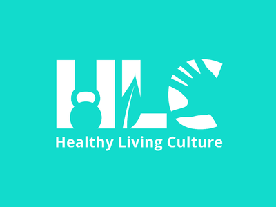 Healthy Living Culture flat clean logo branding culture living healthy