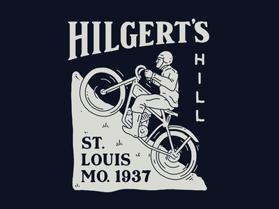 Rejected  by hand hand drawn serif st louis mo vintage lettering motorcycle