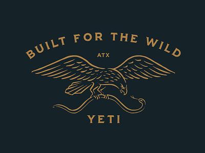 YETI america atx tx austin vintage eagle snake yeti coolers yeti
