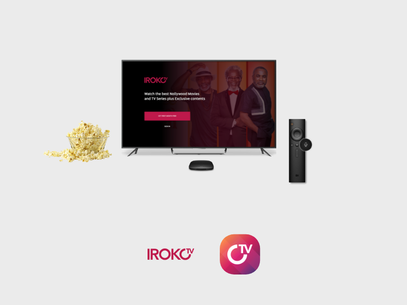 Iroko TV Android TV App (Concept) by Leonard Nebtones on Dribbble