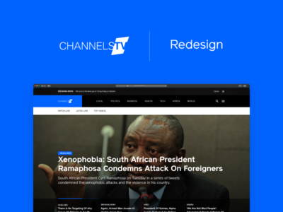 ChannelsTV Redesign