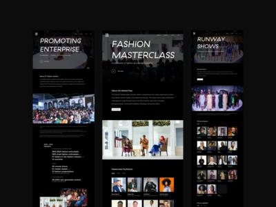 GTBank Fashion Weekend 2019 Website Redesign