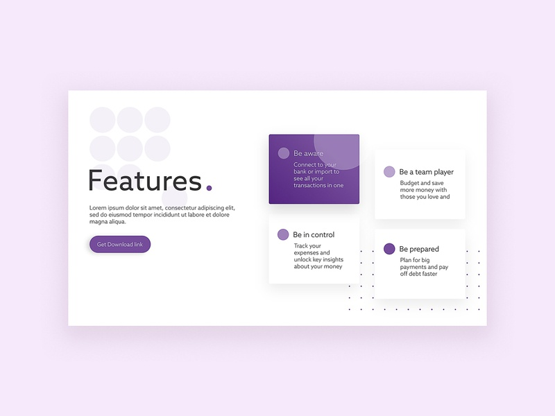 What a feature box featured features introduce box design uidesign landing design landing design ui design ui ux design webdesign features page feature