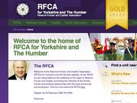 RFCA Yorkshire & The Humber website