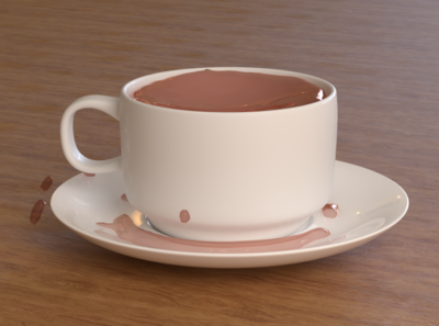 Tea Cup ui dribbble best shot dribbble graphic design digital art product design product art 3d art 3d animation 3ddesign octane render design arnold render cinema 4d 4d photoshop cinema c4d