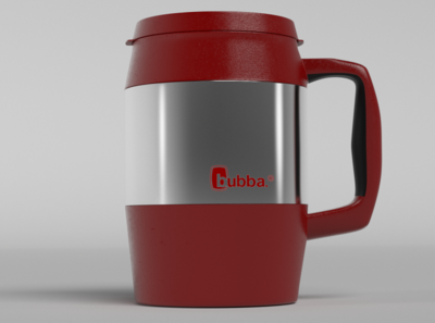 Insulated Mug graphicdesign digitalart dribbble best shot dribbble ui product design product art 3d art 3d animation 3ddesign octane render design arnold render cinema 4d 4d photoshop cinema c4d