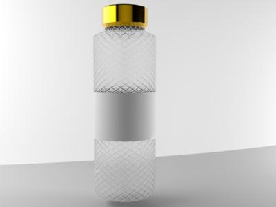 Alcohol Bottle (Client project)