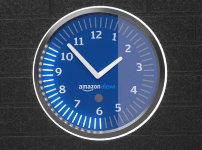 Alexa clock