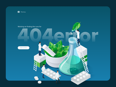 404 - Page not found 404 illustration hellodribbble