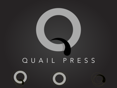 Quail Press Monogram Logo