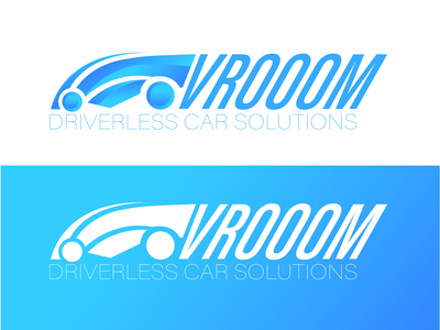 VROOOM driving drive car car logo logodesign illustrator design dailylogochallenge dailylogo branding illustration logo