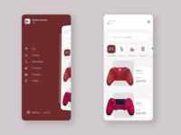 DailyUI #11 : Gaming store UI