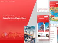 Redesign Case Study : Essel world App
