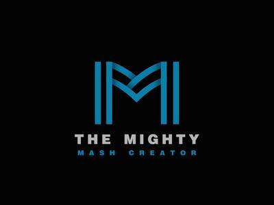 Minimal Logo M icon mdesign mlogo