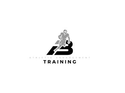 Fitness Training Logo modern logo simple logo black and white gym logo training app athletic logo minimalist logo flat icon 3d design logotype vector branding typography illustration fitness center fitness logo fitness app logo designer logo design