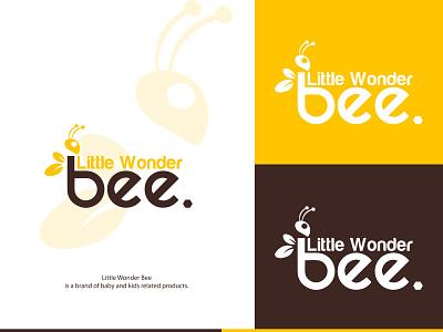 Creative minimalist honey bee logo little bee hive logotype logo happy illustration icon dribbble design color brand identity bee logo bees bee honey bee honeycomb minimalist logo creative logo logo designer logo design