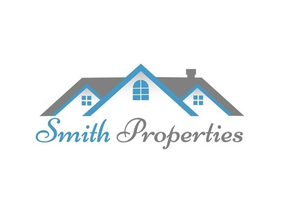 Smith Properties Real Estate Logo Design