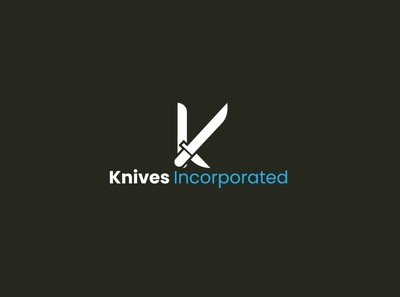 knife logo Design