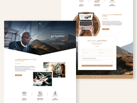 Landing Page - Accounting Company