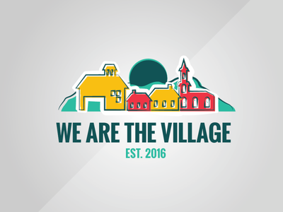 We are the Village Logo