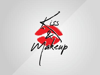 Kiss & Makeup Logo