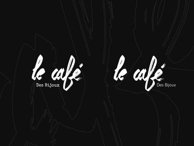 Le café Des Bijoux.